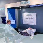 The REVEAL by XSENSOR Mattress Recommendation System kiosk
